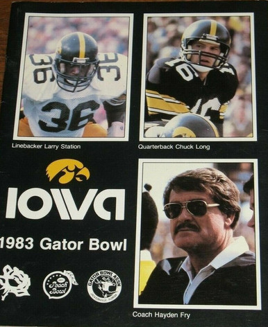 1983 gator bowl media guide
