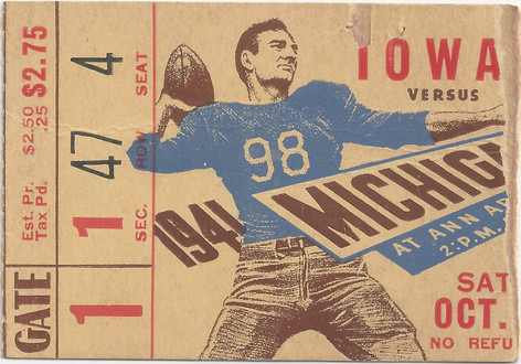 1941 @ Michigan Ticket