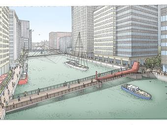 Public exhibition on new South Dock Bridge
