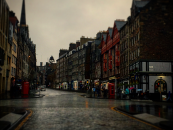 Time Stopped in Edinburgh, and I LOVED it!