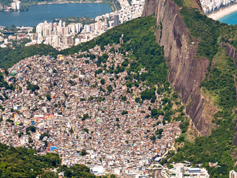 Traveling into the Rocinha Favela