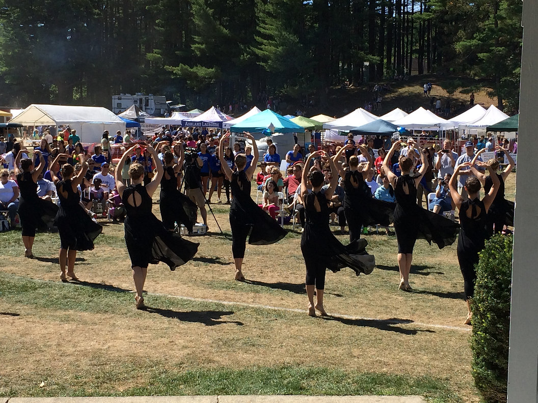Annemarie's Dance Centre dancers perform at Ashland Day 2016