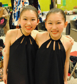 Twins Backstage at the HCA