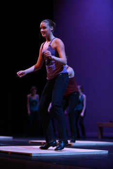 Holliston MA tap student performs in Ashland MA