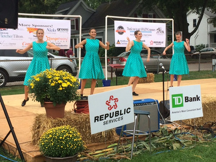 Tap team performs at Celebrate Holliston MA