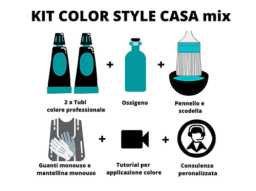 Kit color style casa mix
