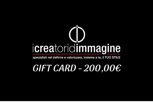 GIFT CARD 200,00€