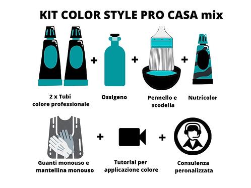 Kit color style pro casa mix