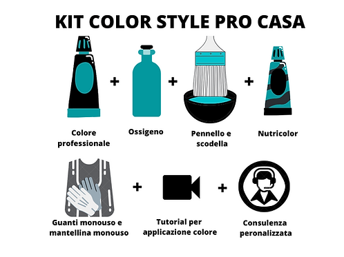 Kit color style pro casa