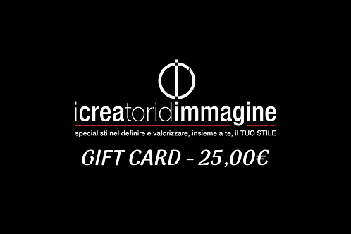 GIFT CARD 25,00€
