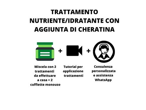TRATTAMENTO IDRATANTE/NUTRIENTE CON CHERATINA