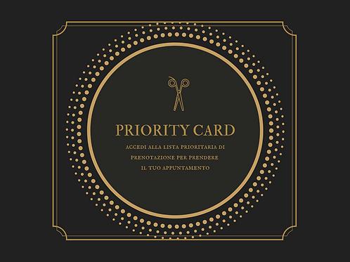 PRIORITY CARD