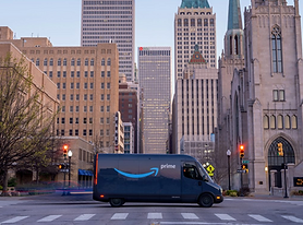 Fortune Article about Amazon's Sustainability Efforts Discusses Amazon Vehicles Transitioning to EV.