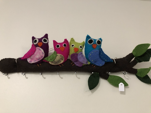 OWL Key hanger. VIBRANT
