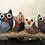 Thumbnail: OWL Key hanger. PASTEL