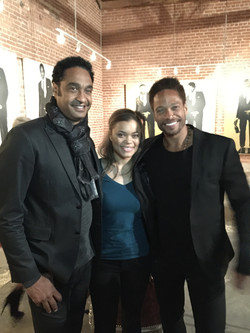 DLEE, Andra Day and Gary Dourdan