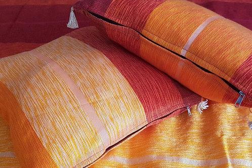 Floor cushion, pillow Red orange