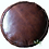 Thumbnail: CLASSY LEATHER OTTOMAN CHOCOLATE CP3CH