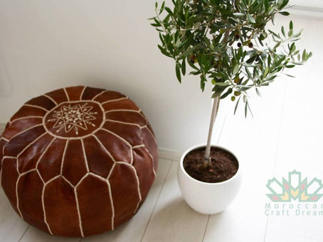 Top Points To Consider While Buying Tan Leather Pouf
