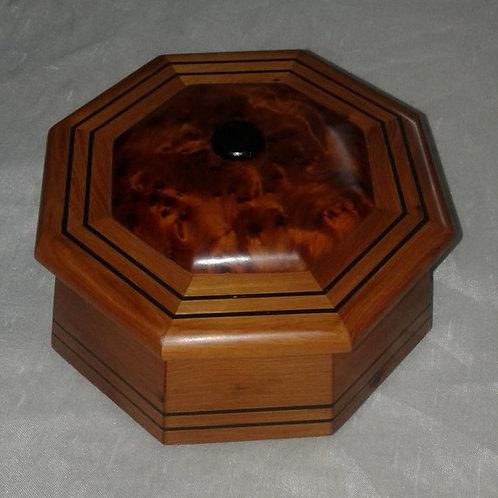 Moroccan Thuya Hand-Carved Box, Decorative Jewelry Box, Keepsake Box, Handmade