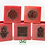 Thumbnail: Moroccan Candle Holder Red