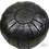 Thumbnail: LUXURY LEATHER OTTOMAN BLACK RP1BL