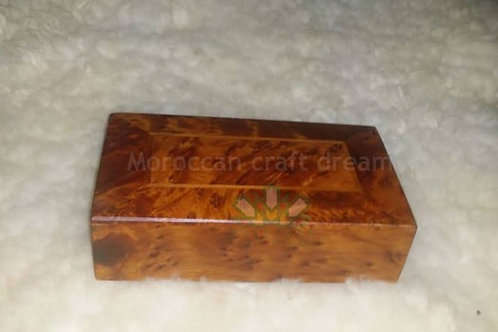 Thuya Wood Handmade Box, Jewelry Box, Keepsake Box, Gift for Her
