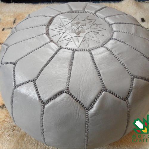 fascinating-grey-moroccan-pouf-ottoman-w