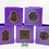 Thumbnail: Moroccan Candle Holder purple