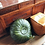Thumbnail: CLASSY LEATHER OTTOMAN GREEN CP1GN