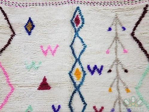 Fantastic Moroccan berberrug Azilal Carpet