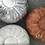 Thumbnail: EXTRA LARGE ROUND LUXURY LEATHER POUF (ALL COLORS & ALL SIZES)