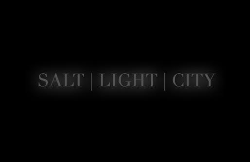 Salt, Light, and the City.