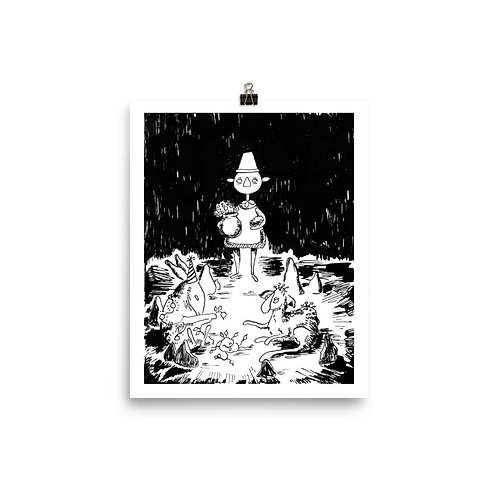 Art Print 8x10 in