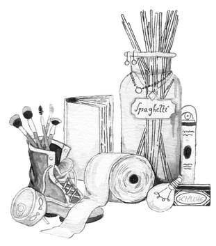 Eine Sammlung von Dingen