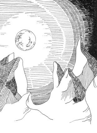 Mond Berge