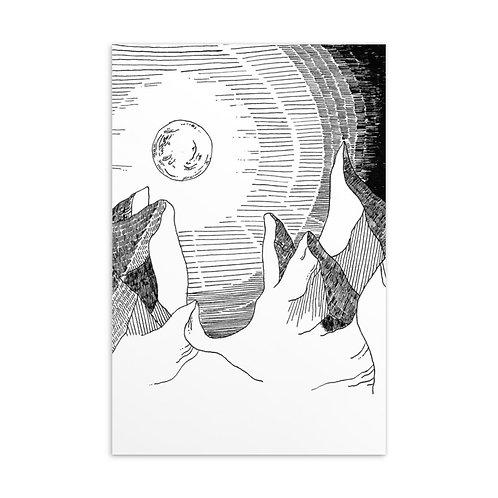 Small Art Print 4x6 in