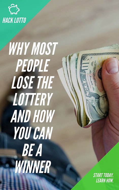 HACK LOTTO - The ESSENTIAL guide on how YOU can win the lottery.