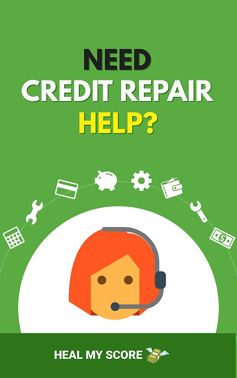 HEAL MY SCORE - The AMAZING Do-it-Yourself Credit Repair eBook