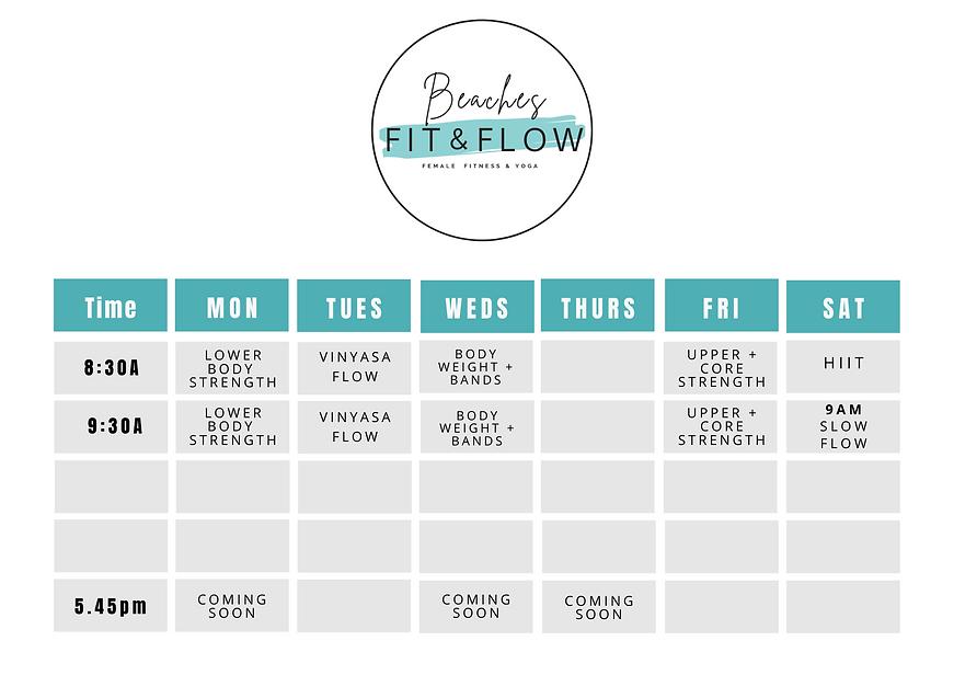 FIT&FLOW Spring_Summer Timetable 2020.pn