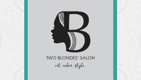Two Blondes' Salon Logo
