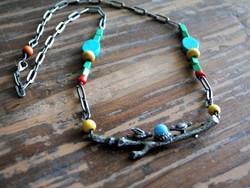 Nesting Bird Necklace