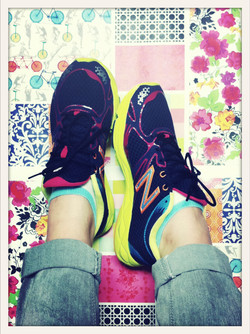 New Balance on my pattern creations