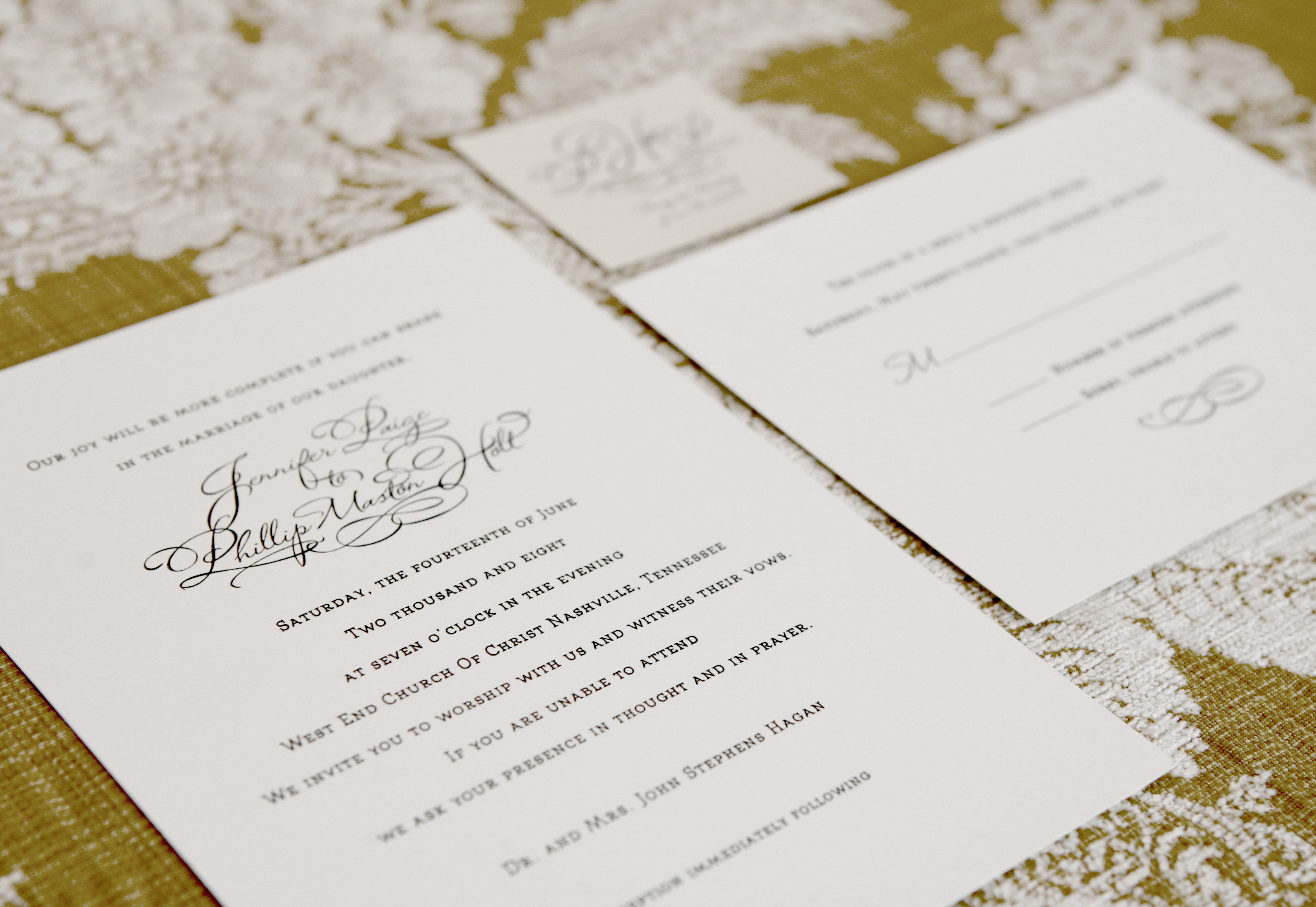 Wedding Stationery | Calligraphy