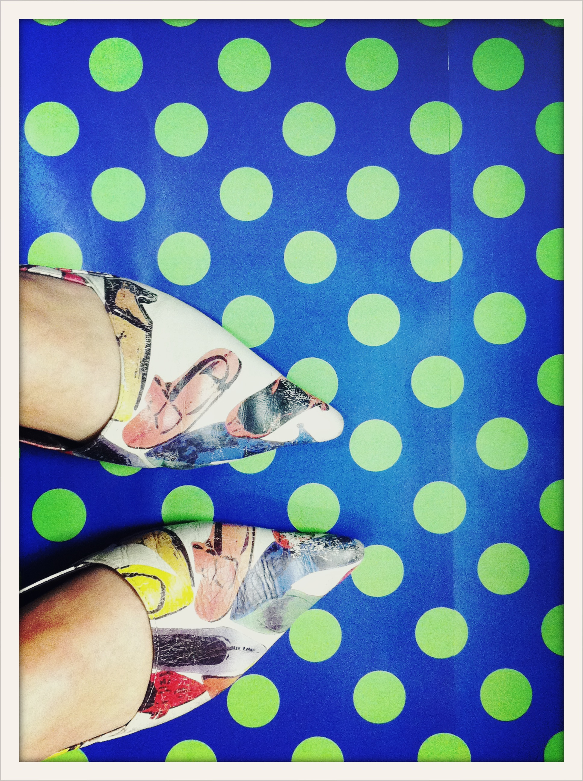 shoe pattern on shoes
