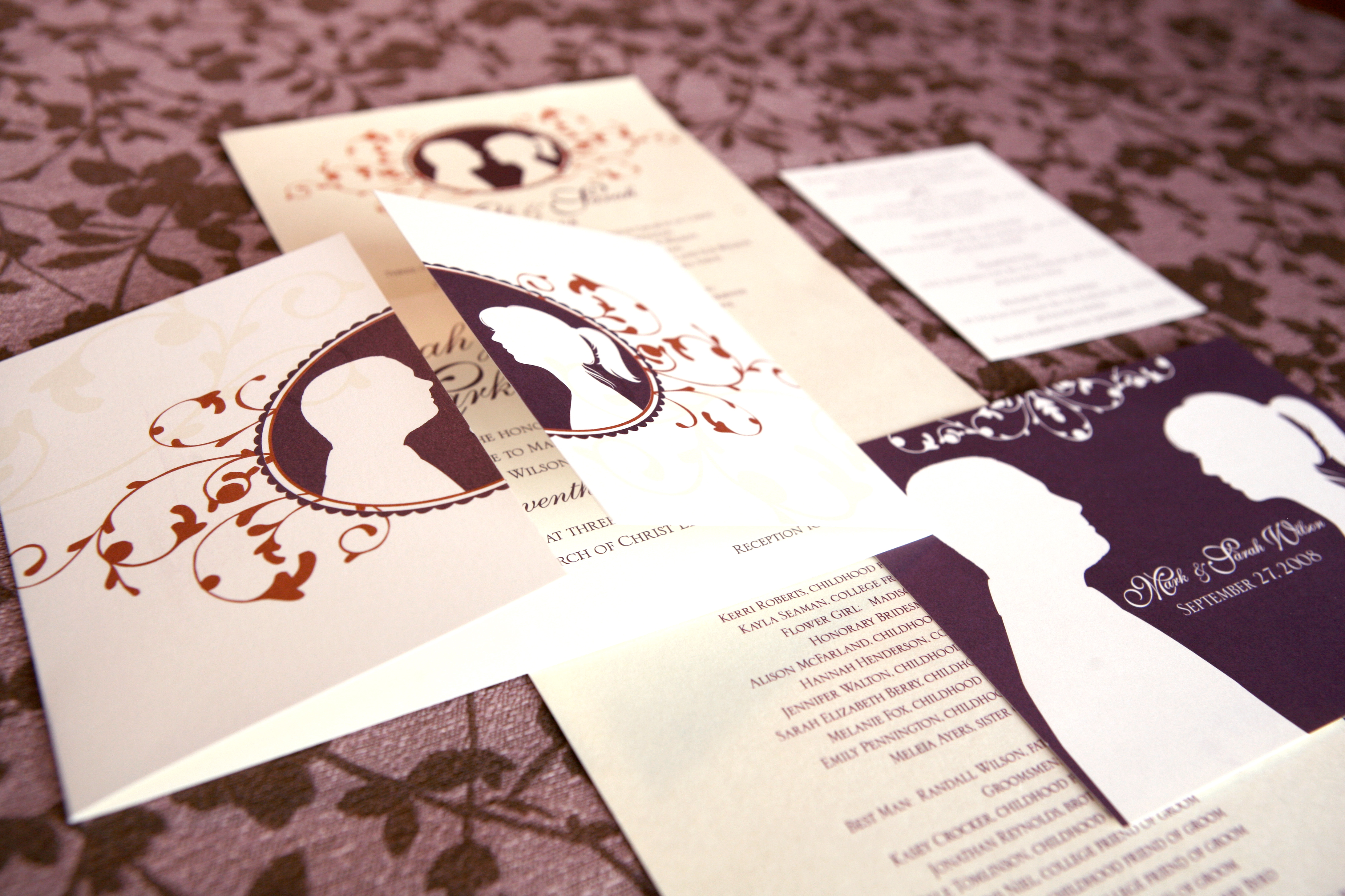 Wedding Stationery | Cameo