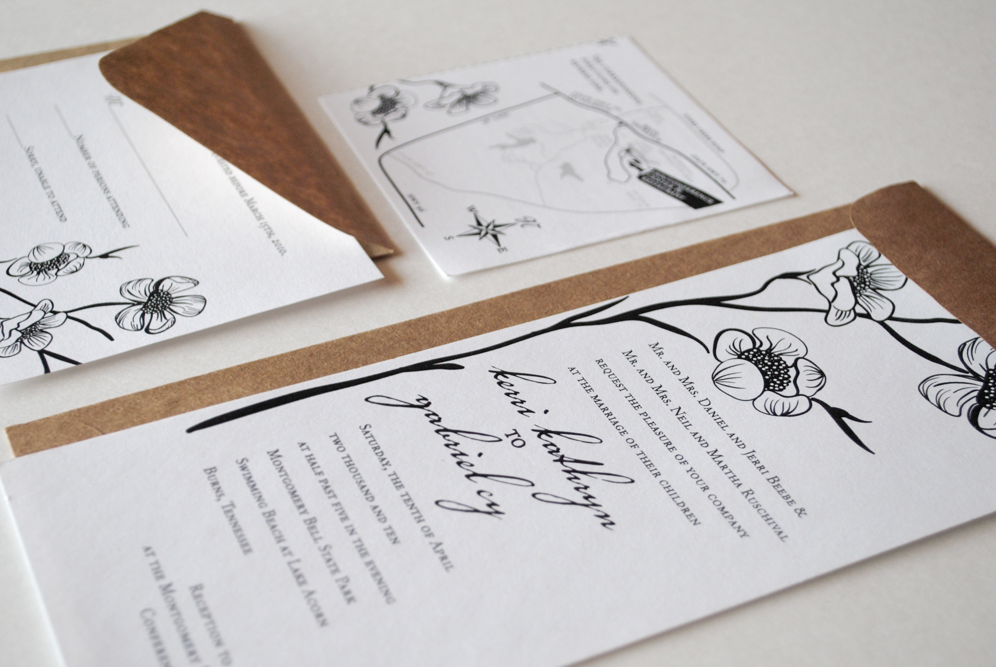 Weding Stationery | Cherry Blossom