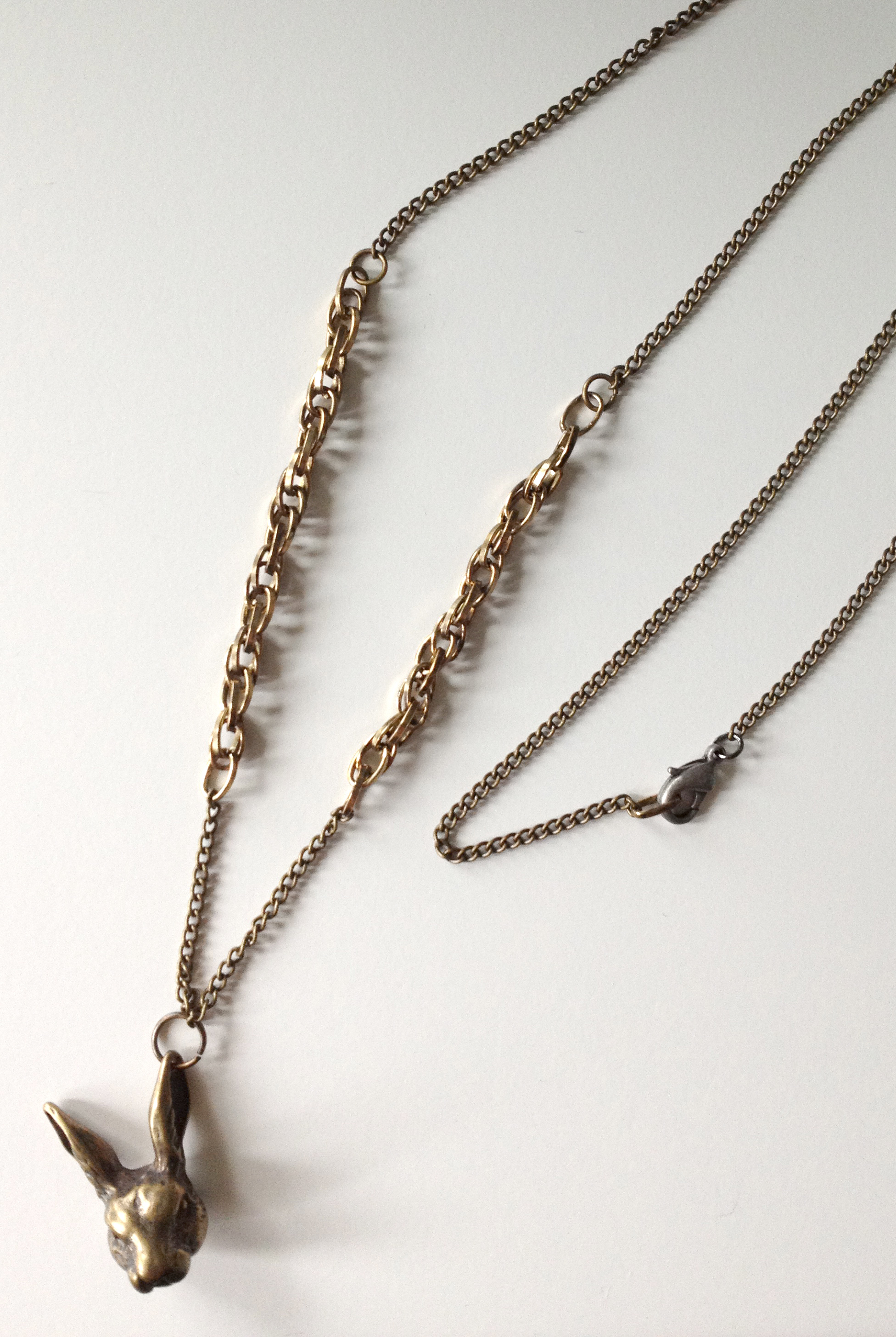Bunny Chain Necklace