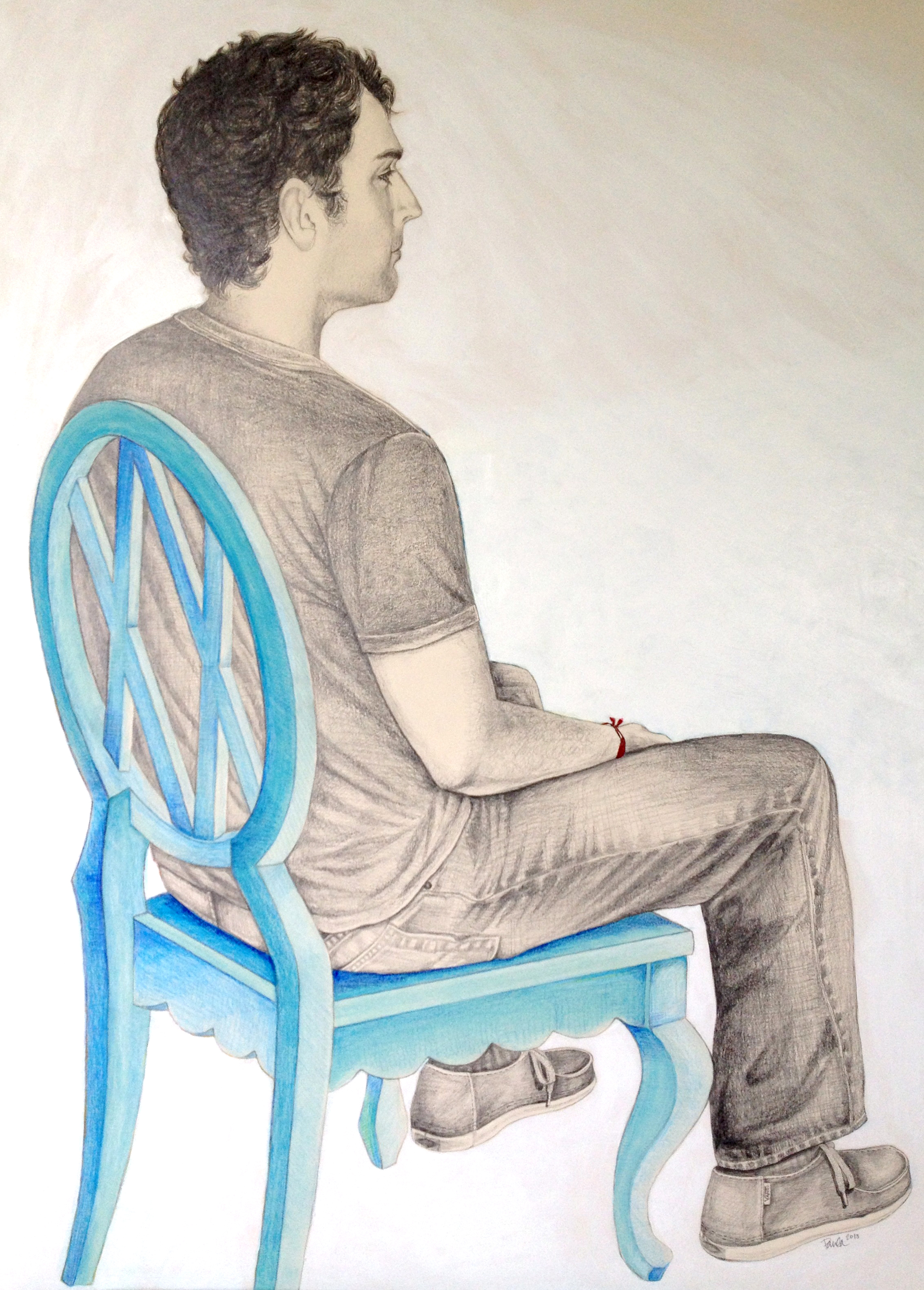 Scott in Chair Portrait