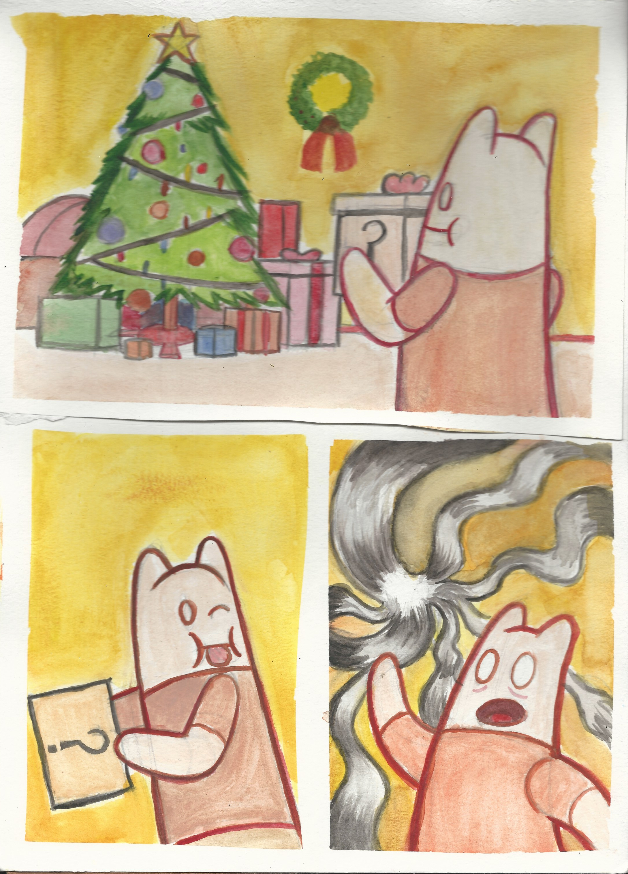 Watercolor comic compilation 1